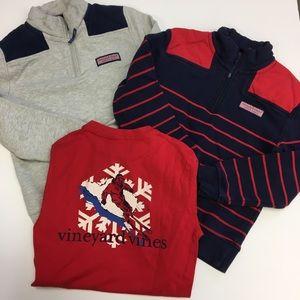 Boys Vineyard Vines Sweater Bundle Small 8/10